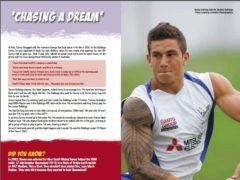 Reading book for children Sonny Bill Williams