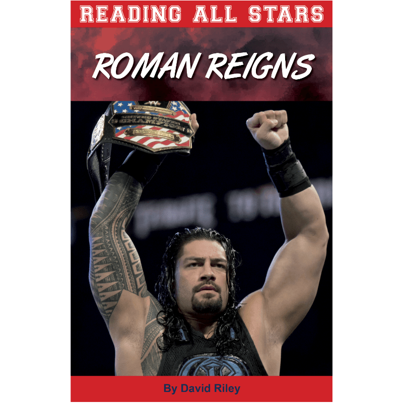 Roman Reigns Reading All Stars by David Riley