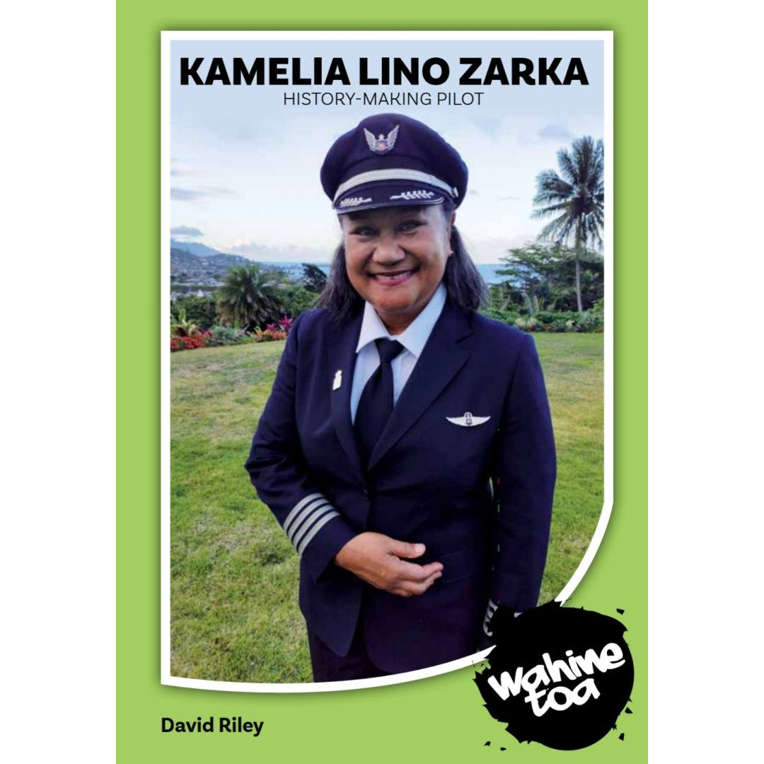 Kamelia Lino Zarka Wahine Toa by David Riley