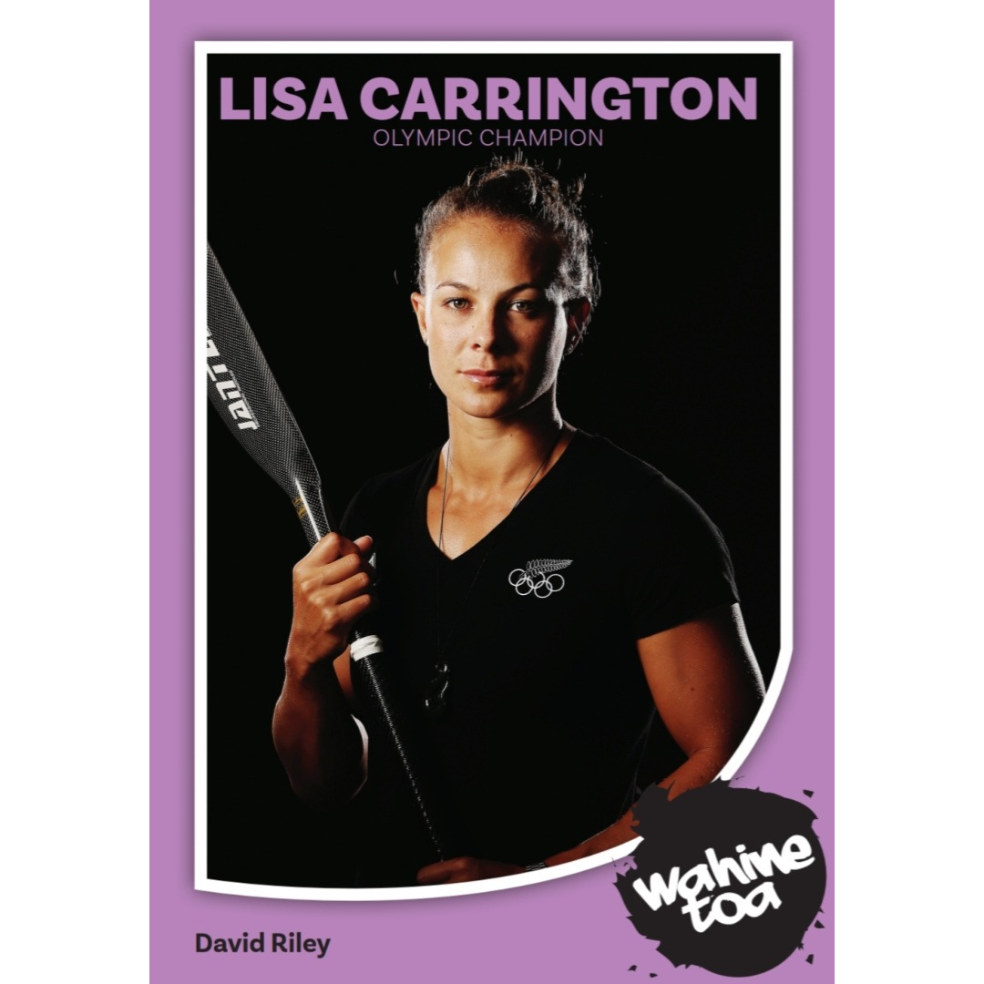 Lisa Carrington Wahine Toa by David Riley
