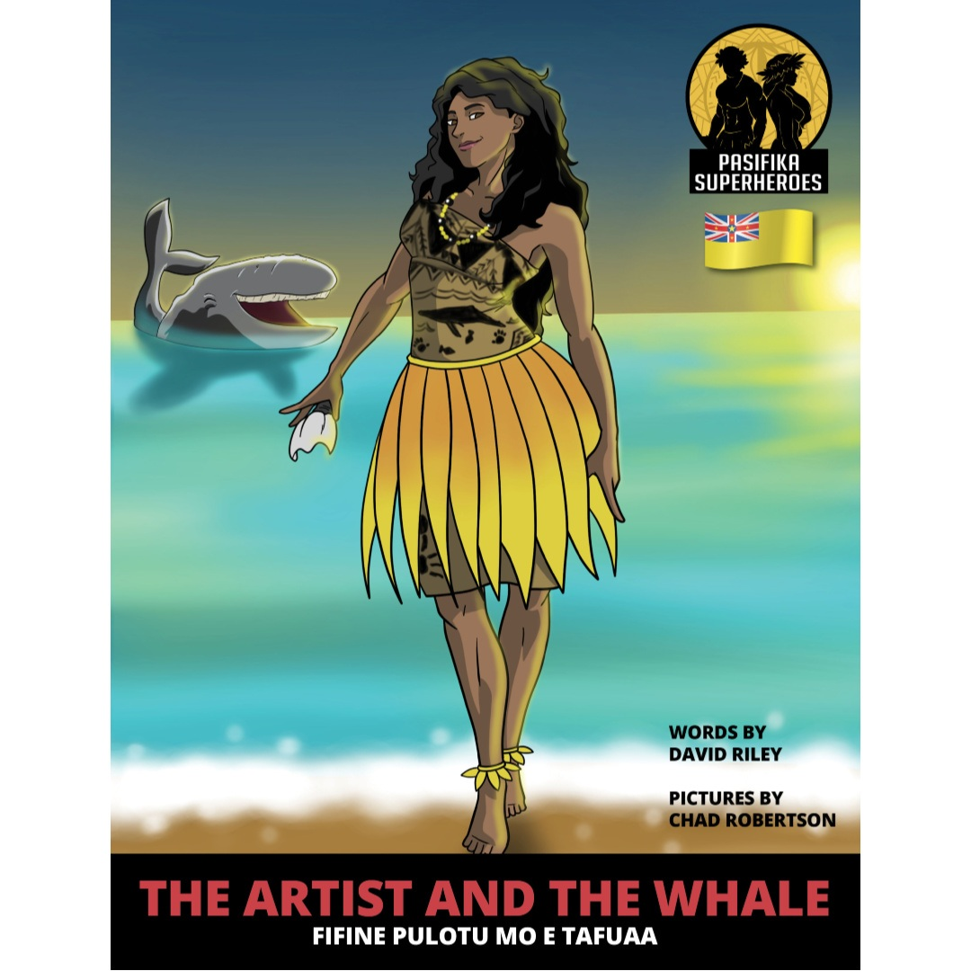 The Artist and the Whale Niue legend by David Riley
